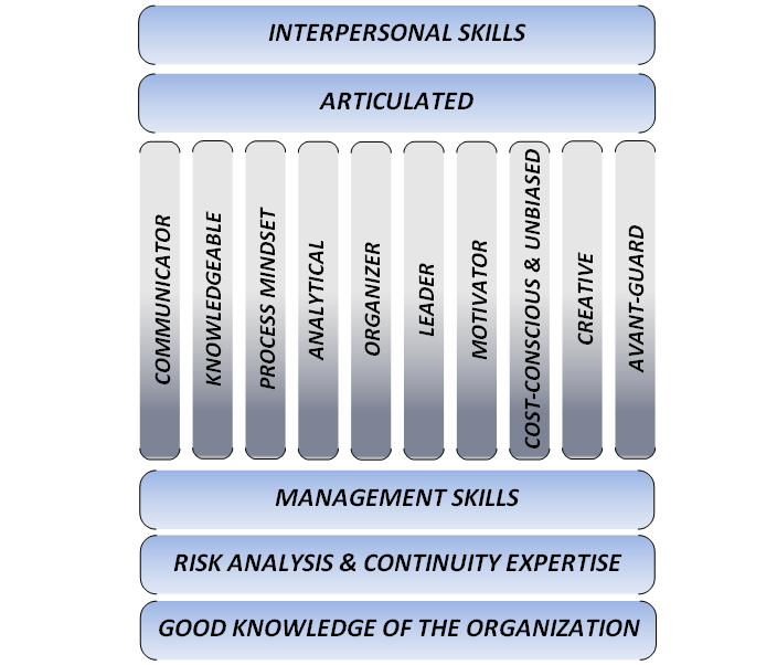 Skills and Attributes Infographic